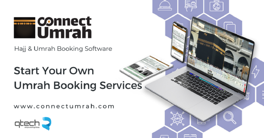 Connect Umrah, Qtech Software