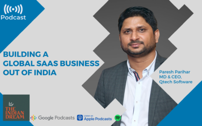 Podcast SaaS Business Qtech Software Paresh Parihar