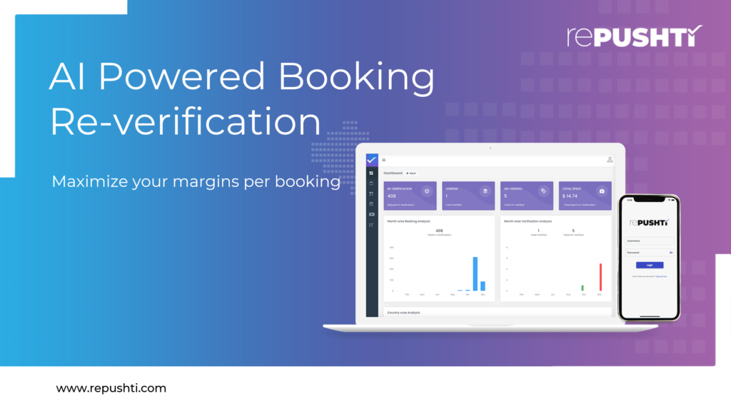 rePushti - Booking verification platform