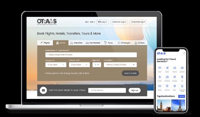 OTRAMS Travel ERP Software, Travel Reservation System
