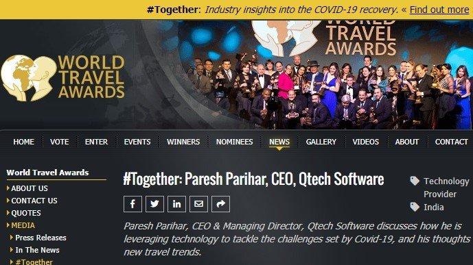 WTA interview Paresh Parihar Qtech Software
