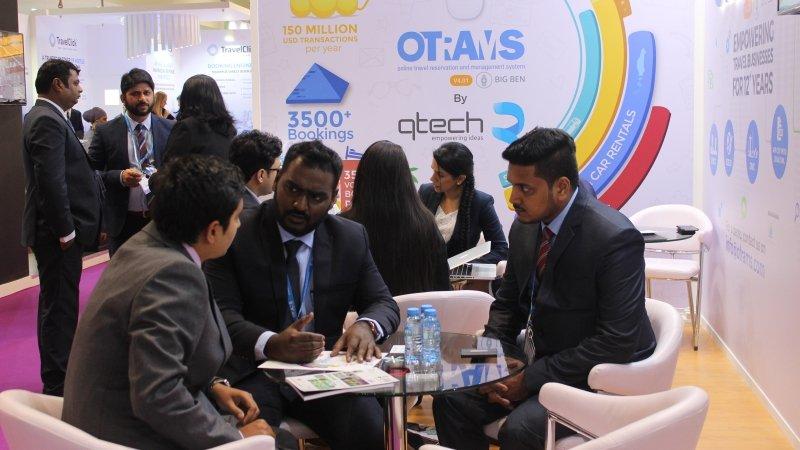 Team Qtech at Arabian Travel Market ATM 1