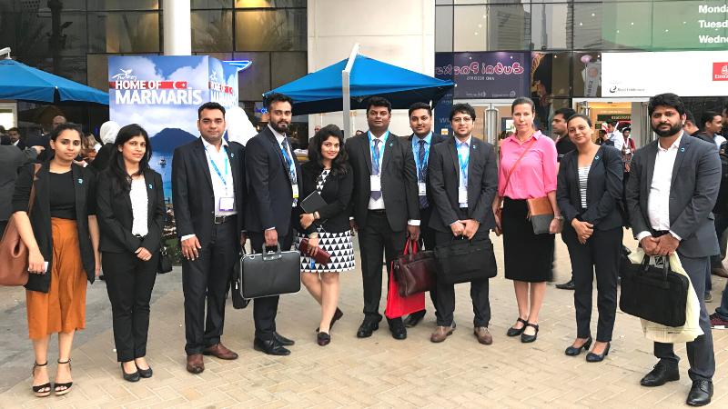 Team Qtech at Arabian Travel Market ATM 11