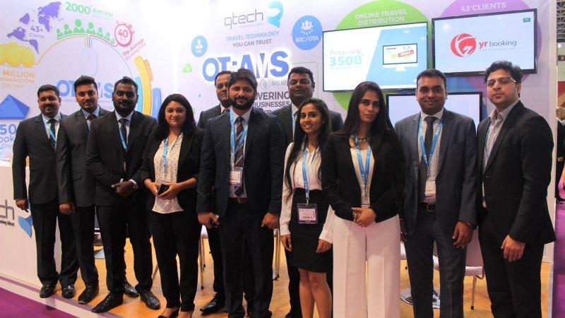 Team Qtech at Arabian Travel Market ATM 2