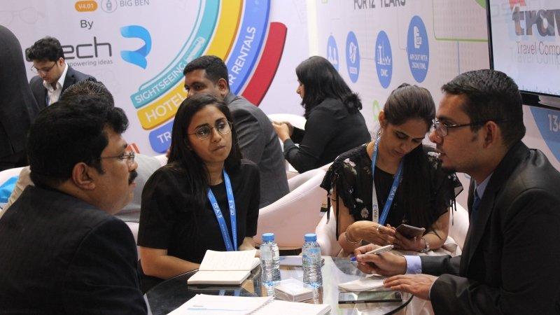 Team Qtech at Arabian Travel Market ATM 5
