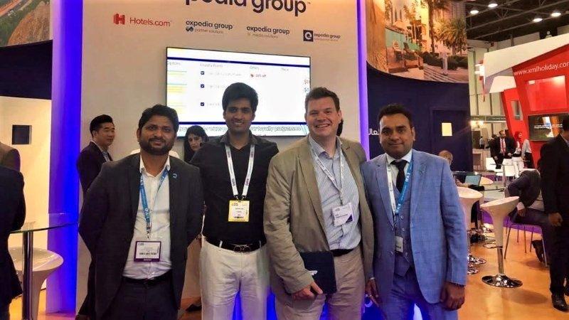 Team Qtech at Arabian Travel Market ATM 6