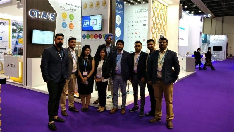 Team Qtech at Arabian Travel Market ATM 7