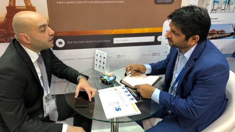 Team Qtech at Arabian Travel Market ATM 9