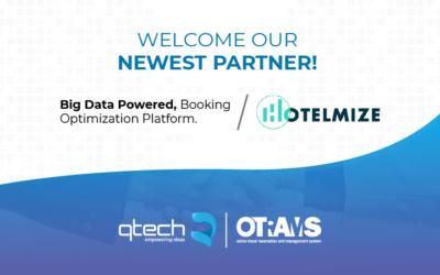 Hotelmize partnership with Qtech Software